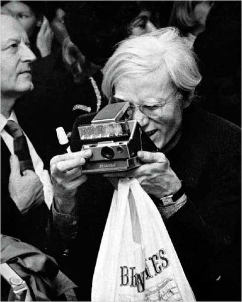 Andy Warhol fotografo