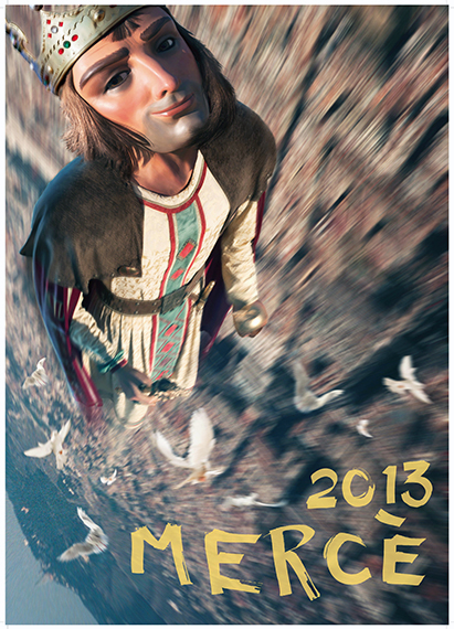Cartel de la Mercè 2013 por Joan Fontcuberta