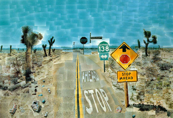 David Hockney - fotografo