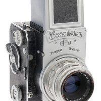 Camara fotografica - Ihagee Exakta 66 vertical