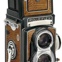Camara fotografica - Rolleiflex T Crocodile