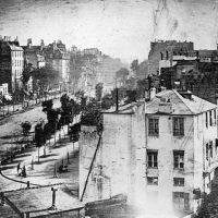 Daguerrotipo - Louis Daguerre - Boulevard du Temple