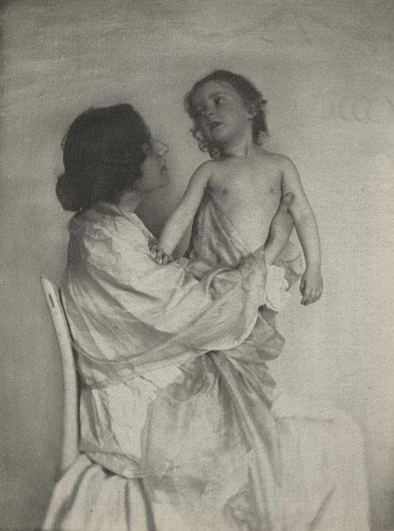 Gertrude Kasebier fotógrafa pionera
