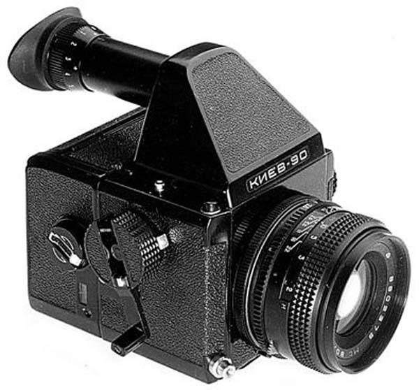 Cámara fotográfica Kiev 80