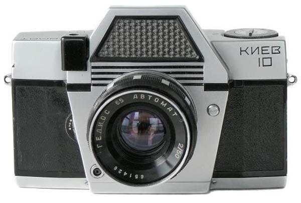 Cámara fotográfica Kiev 10