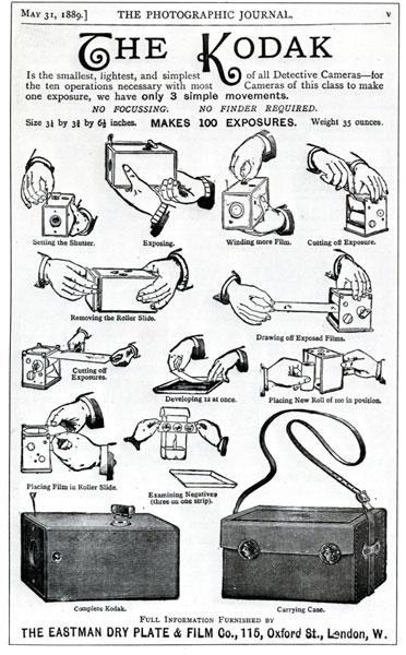 Kodak - Camara detective